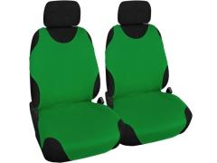 Koszulki samochodowe, Koszulki na siedzenia materiałowe w kolorze jasnozielony,.