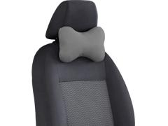 Poduszki samochodowe, Poduszki korygujące alkantara w kolorze jasnoszary,.