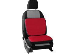 Poduszki samochodowe, Poduszki korygujące alkantara w kolorze czerwony,.
