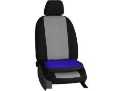 Poduszki samochodowe, Poduszki korygujące alkantara w kolorze niebieski,.