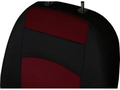 Pokrowce samochodowe, Pokrowce uniwersalne materiałowe w kolorze bordowy,.