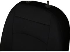 Pokrowce samochodowe, Pokrowce uniwersalne materiałowe w kolorze czarny,.