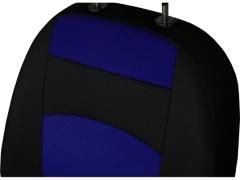 Pokrowce samochodowe, Pokrowce uniwersalne materiałowe w kolorze niebieski,.