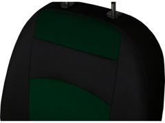 Pokrowce samochodowe, Pokrowce uniwersalne materiałowe w kolorze zielony,.