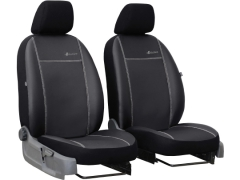 Pokrowce samochodowe do Fiat 500X (2014-...). Pokrowce miarowe skórzane w kolorze czarny, pasują do Fiat 500X (2014-...).