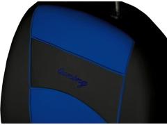 Pokrowce samochodowe, Pokrowce uniwersalne skórzane w kolorze niebieski,.