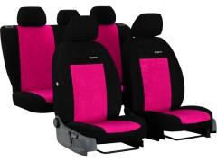 Pokrowce samochodowe, Pokrowce uniwersalne welurowe w kolorze różowy,.