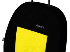 Pokrowce samochodowe, Pokrowce uniwersalne welurowe w kolorze żółty,.