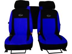 Pokrowce samochodowe, Pokrowce uniwersalne welurowe, materiałowe w kolorze niebieski,.