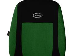 Pokrowce samochodowe, Pokrowce uniwersalne welurowe, materiałowe w kolorze zielony,.